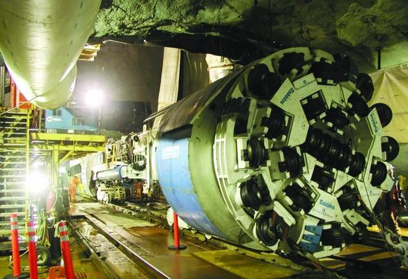 Московское метро будет копать американский робот. Изображение № 2.