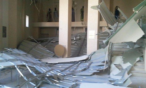 У театра «Буфф» рухнул потолок. Изображение № 2.
