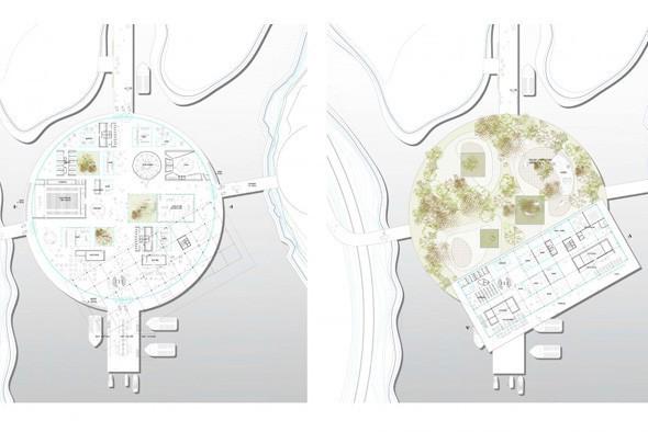 План острова с причалами. Изображение № 57.