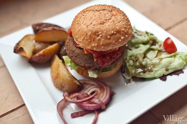 Рецепты шефов: Бургер сфалафелем. Изображение № 2.
