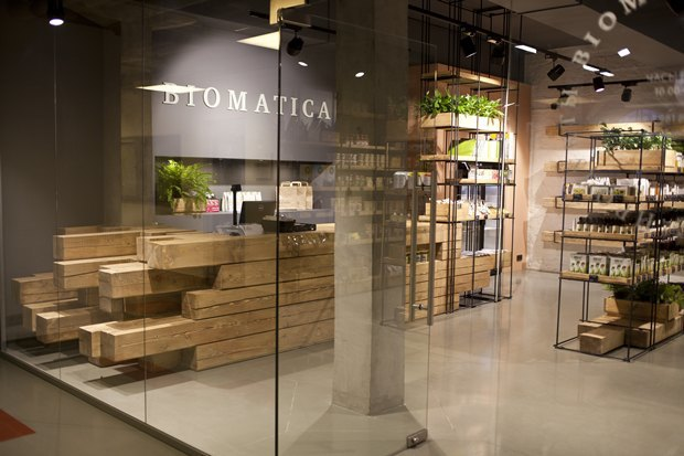 В «Ткачах» открылся магазин натуральных товаров Biomatica. Изображение № 1.