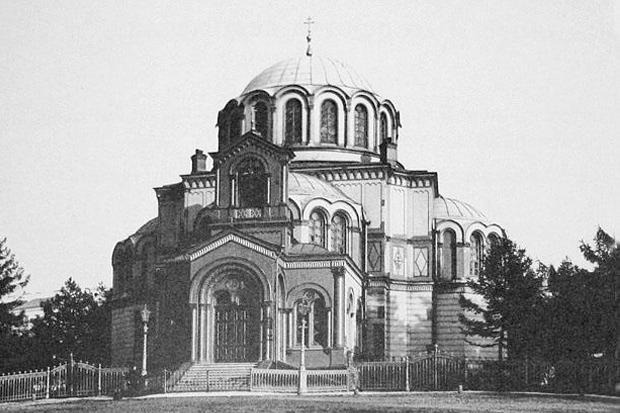 Фотография греческой церкви 1870-х годов. Изображение № 3.