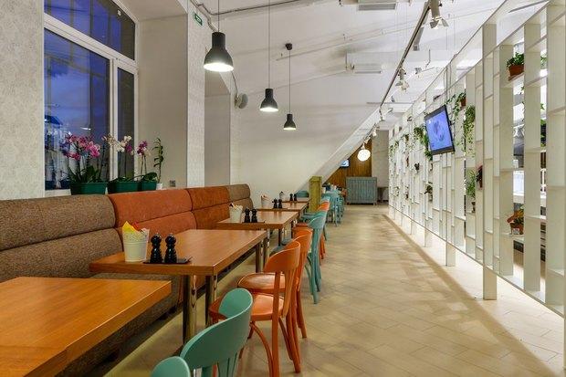 Создатели KwakInn открыли ресторан самообслуживания свидом наВасильевский остров . Изображение № 3.