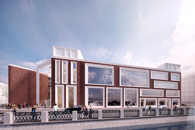Определены проектировщики фасадов нового здания Третьяковки. Изображение № 2.