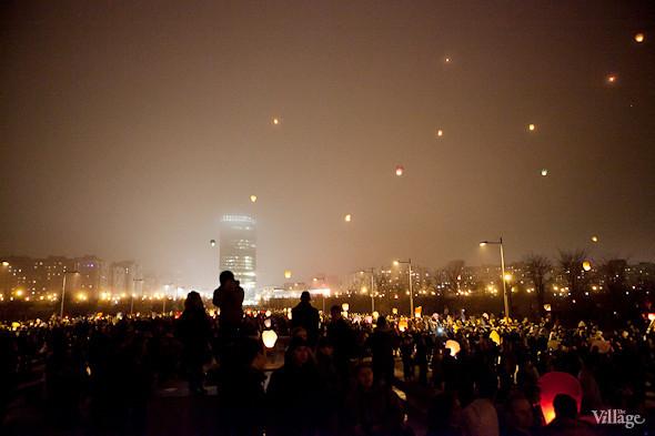 Фоторепортаж: Флешмоб с китайскими фонариками. Изображение № 26.