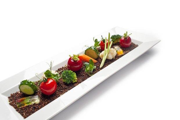 «Овощи в земле» в ресторане «Турандот». Изображение № 30.