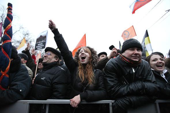 Фоторепортаж: Митинг против фальсификации выборов. Изображение № 34.