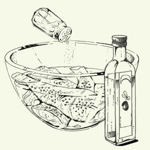Брускетта избородинского хлеба спряной скумбрией Алексея Айзена. Изображение № 4.