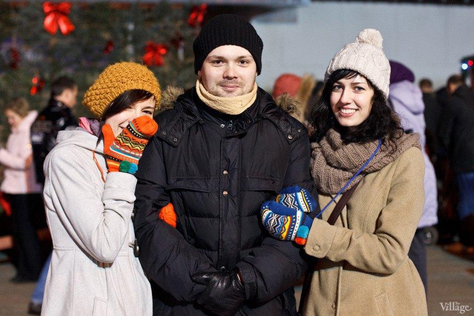 Люди в городе: Рождественская деревня ВВЦ. Изображение № 2.