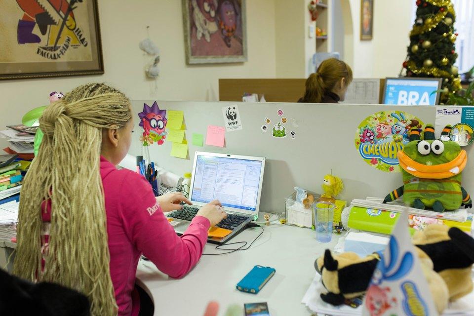 Как работают в офисе «Смешариков». Изображение № 6.