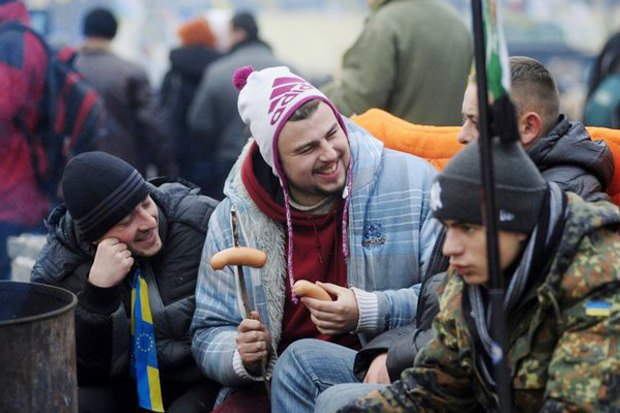 Работа со вспышкой: Фотографы — о съёмке на «Евромайдане». Изображение № 29.