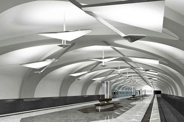 Путин открыл метро «Новокосино». Изображение № 4.