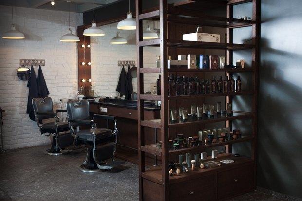 На «Чистых прудах» открылась мужская парикмахерская Mr. Right. Изображение № 1.