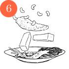 Рецепты шефов: Грудки голубя с орехами кешью и полентой. Изображение № 9.