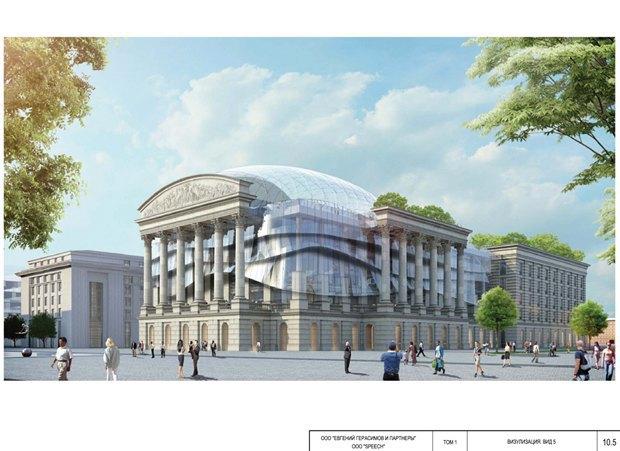 СМИ опубликовали часть нового проекта судебного квартала наПетроградской стороне. Изображение № 5.
