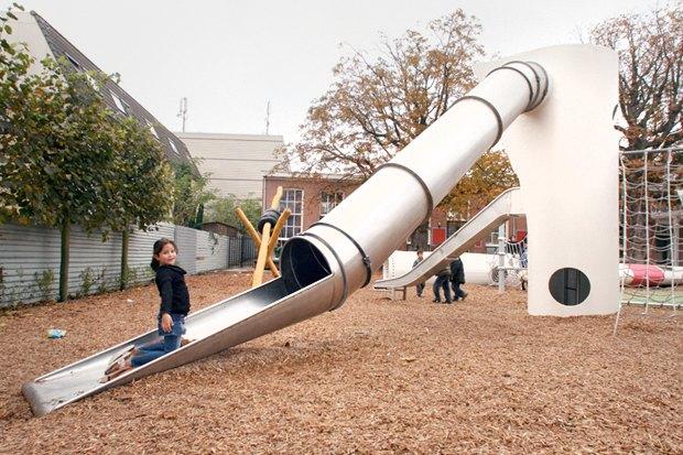 Идеи для города: Детская площадка из крыльев ветряной мельницы вРоттердаме. Изображение № 12.