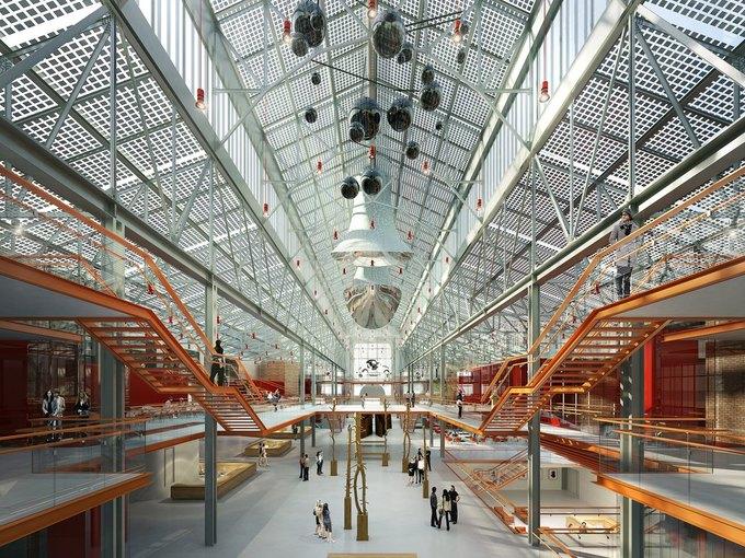 Итальянское бюро разработало концепцию центра современного искусства в ГЭС-2. Изображение № 2.