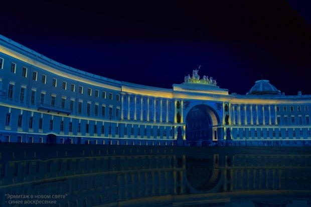 На ночь глядя: 12 проектов подсветки Главного штаба. Изображение № 12.