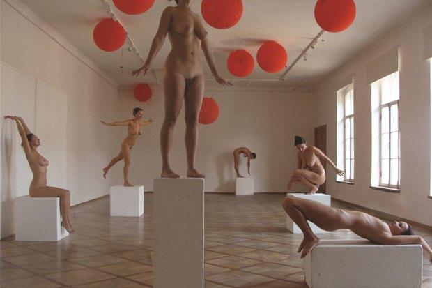 Энвер Бакеев «Живые скульптуры для спальных районов», «Новые идеи для города — 2011». Изображение № 2.