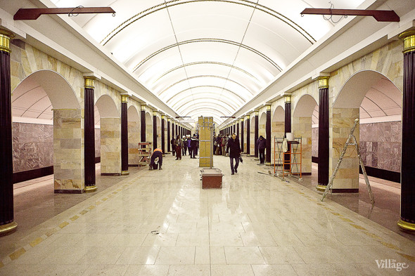 Фоторепортаж: Станция метро «Адмиралтейская» изнутри. Изображение № 9.