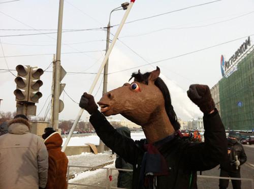 Онлайн-трансляция: Шествие и митинг «За честные выборы». Изображение № 18.
