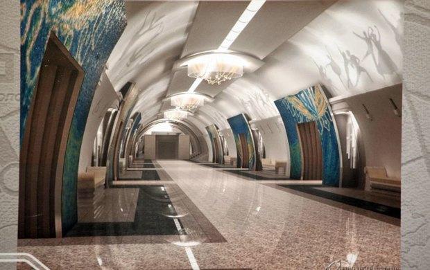 Станция «Театральная» . Изображение № 3.