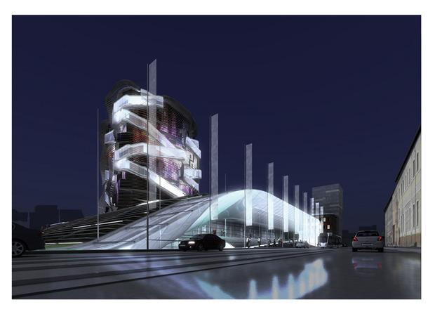 Реализацию проекта нового здания ГЦСИ приостановили. Изображение № 2.