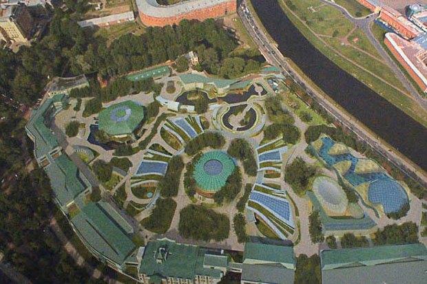 Ленинградский зоопарк опубликовал проект реконструкции. Изображение № 1.