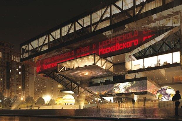 Представлены шесть проектов нового здания Политехнического музея. Изображение № 14.