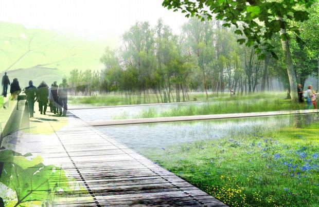 В Мневниках будет парк развлечений, сафари и этнодеревня. Изображение № 6.
