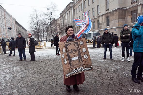 Два санкционированных митинга в Петербурге собрали 2 500 человек. Изображение № 48.