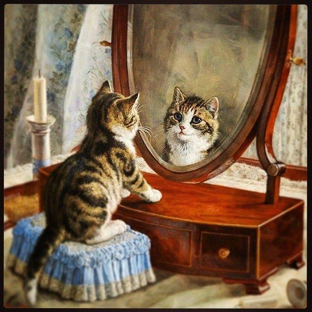 Музейные коты вснимках Instagram. Изображение № 10.