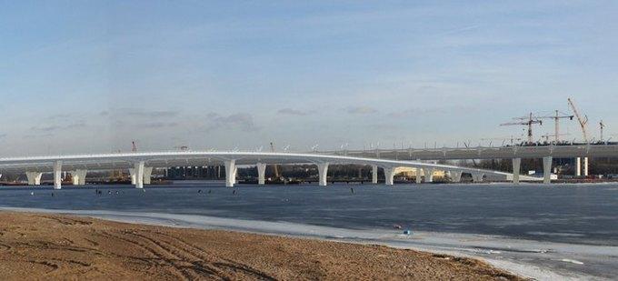 Началось строительство Яхтенного моста наКрестовский остров. Изображение № 2.