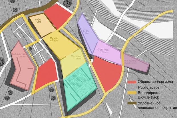 Для Петербурга разработали проекты эко отеля, банка и досугового центра. Изображение № 14.