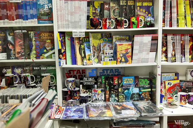 Раскадровка: 6 магазинов илавок с комиксами вПетербурге. Изображение № 21.