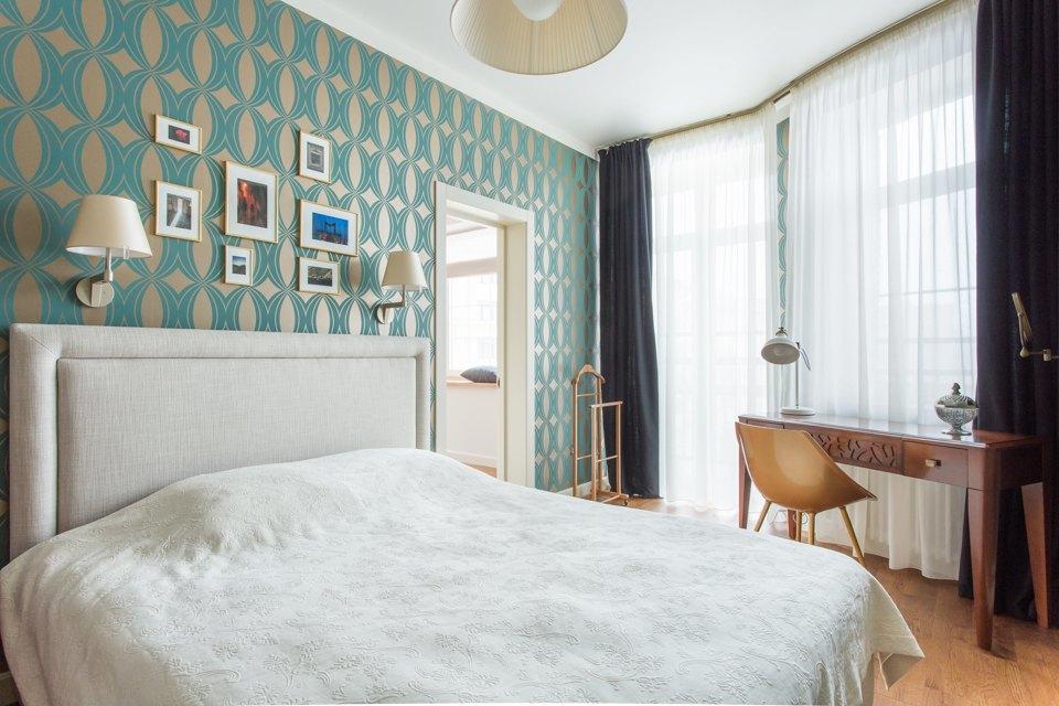 Трёхкомнатная квартира в духе модернизма на «Октябрьском поле». Изображение № 29.