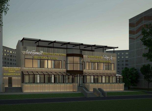 Владельцы Graf-in открывают трёхэтажный ресторанный комплекс в Красногвардейском районе. Изображение № 4.