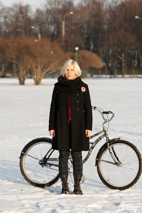 Люди в городе: Кто ездит зимой на велосипеде . Изображение № 3.