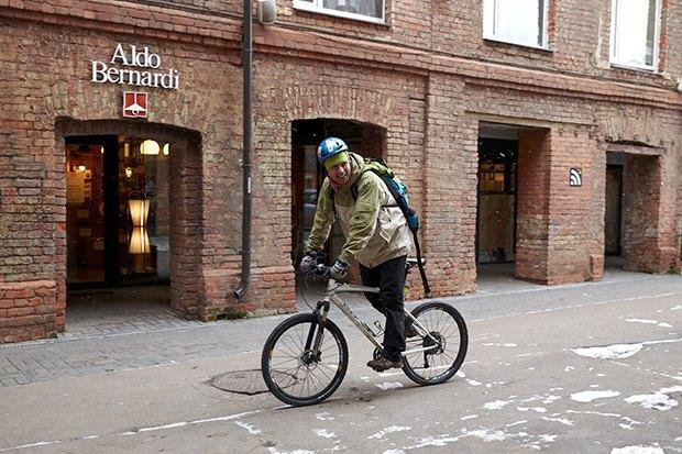 В диких условиях: Велосипед против автомобиля в –10 ˚C. Изображение № 4.