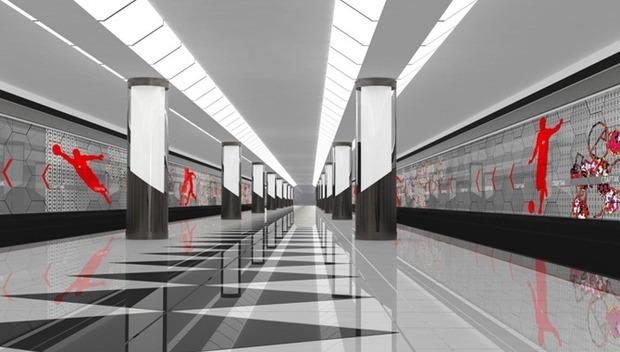 Станции метро предложили облицевать стеклом. Изображение № 2.