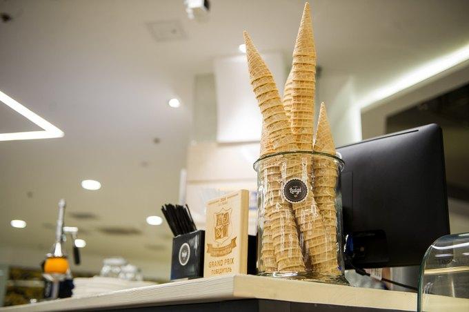 В «Заневском каскаде» открылось кафе Luigi Coffee. Изображение № 5.