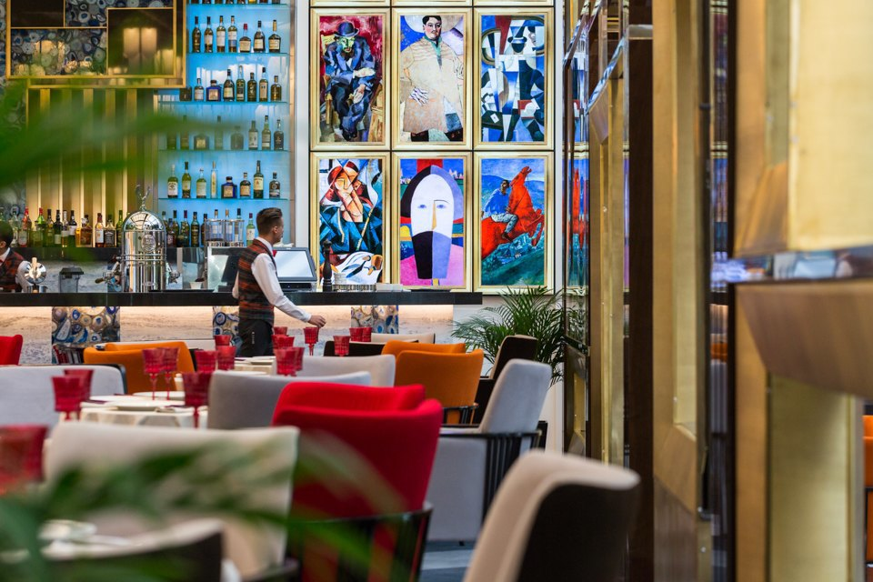 Ресторан «Блок» вТаврическом саду . Изображение № 14.