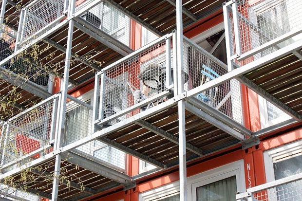 Студенческие общежития из контейнеров в Голландии. Изображение № 8.