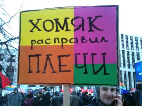 Прямая трансляция: Митинг «За честные выборы» на проспекте академика Сахарова. Изображение № 20.