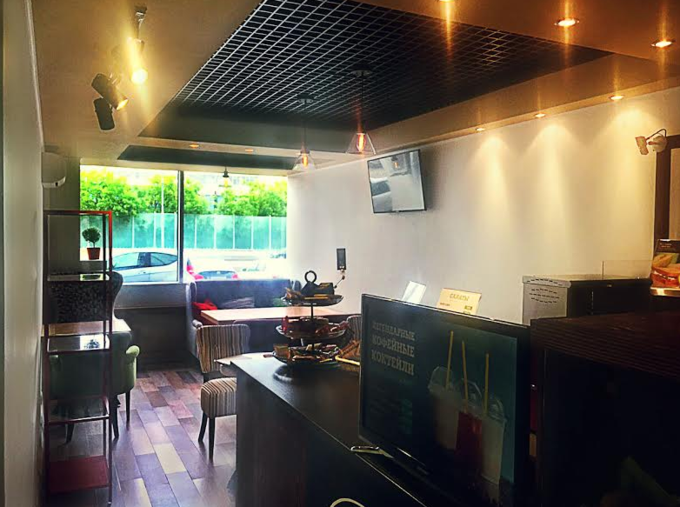 На «Динамо» открылась кофейня сети Coffee and the City. Изображение № 2.