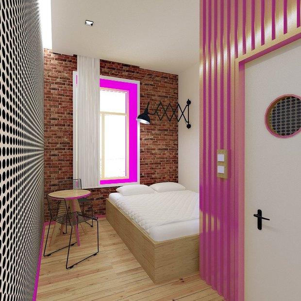 В кластере «Архитектор» открылся хостел. Изображение № 2.
