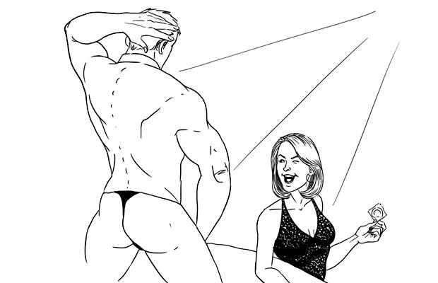 Как всё устроено: Мужской стриптиз. Изображение № 5.