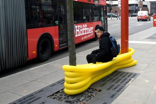 Идеи для города: Мебель из труб в Гамбурге. Изображение № 7.