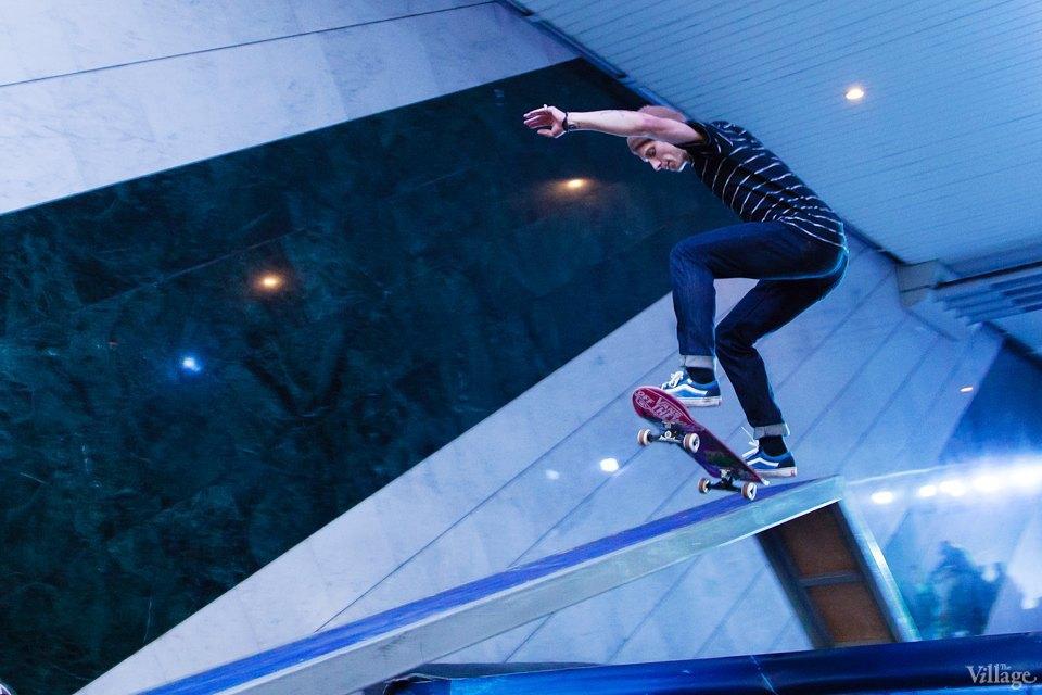 Фото ночи: Скейтерский чемпионат в метро. Изображение № 15.