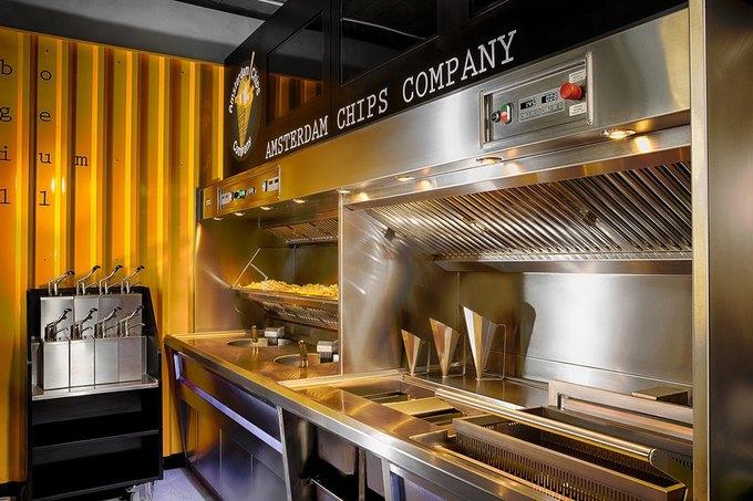НаНевском проспекте заработало кафе AmsterdamChipsCompany . Изображение № 4.